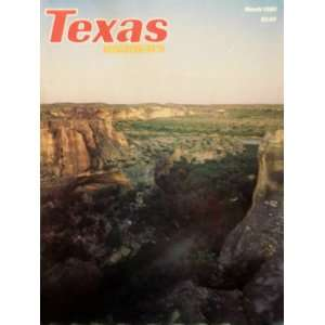 Texas Highways (March, 32) Frank Lively Books