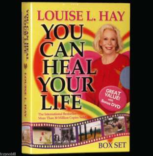 You Can Heal Your Life DVD & BOOK Louise L. Hay BOX SET