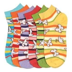 HS Women Fashion Socks Nature Design (size 9 11) 6 Colors