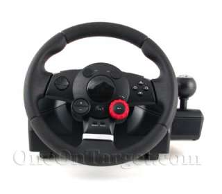 Logitech Driving Force GT Wheel w/Pedals for PS3, PS2