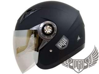 Jet Pilot Motorcycle Scooter Helmet Open Face Pink S