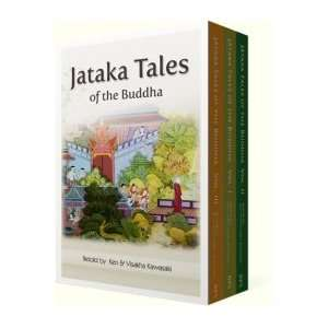 Jataka Tales of The Budhha (An Anthology  Three volume Set