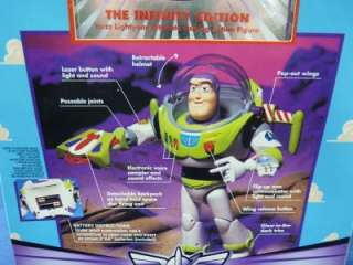 Disney Toy Story Talking Buzz Lightyear The Infinity Edition