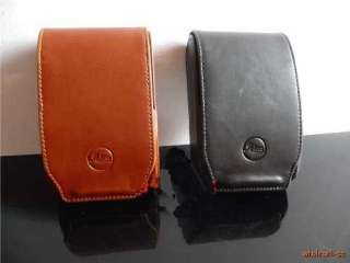 Black Leather camera bag case pouch for leica V LUX20 Z