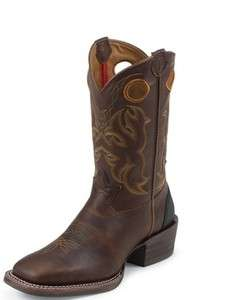 NIB Mens Tony Lama RR9009 Dark Sequoia Western Cowboy Boots