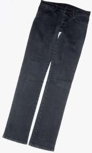 32/33.5 KSUBI TSUBI FADED BLACK SKINNY JEANS MENS