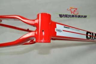 New 2011 Giant XTC FR MTB Bicycle Bike Frame 18 M Red