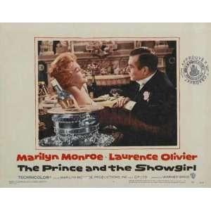 Half Sheet B 22x28 Laurence Olivier Marilyn Monroe