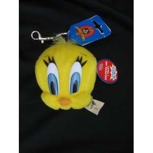 Looney Tunes Tweety Bird Plush Talking Key Chain Toys & Games