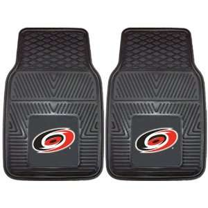 Custom Made   10530   Carolina Hurricanes 2 pc Heavy Duty Vinyl Car