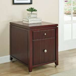 Grove Two Drawer Mobile File Terra Finish