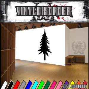 Trees Pine Tree NS002 Vinyl Decal Wall Art Sticker Mural