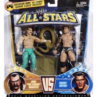 Mattel WWE Wrestling Exclusive All Stars Action Figure 2Pack Jake The