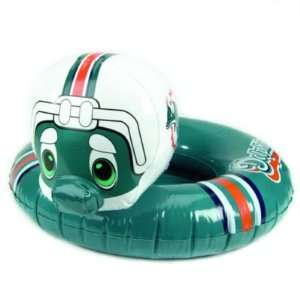 MIAMI DOLPHINS INFLATABLE MASCOT INNER TUBES (3) Sports & Outdoors
