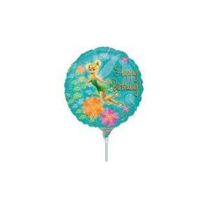 9 Mini Balloon (Airfill Only) Tinkerbell Birthday   Mylar