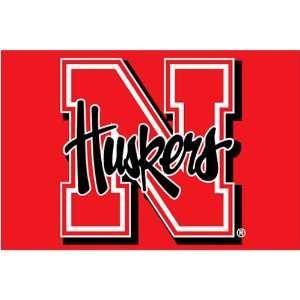 University of Nebraska Cornhuskers Rug   Tufted  Sports