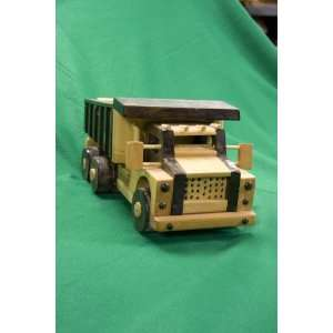 Wooden Toy Dump Truck: Everything Else