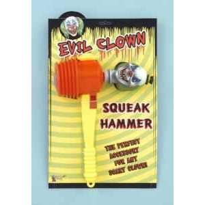 Evil Clown Squeak Hammer Accessory [Apparel]