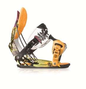 AT SE Black Mens Medium Park Freestyle Snowboard Bindings 2011