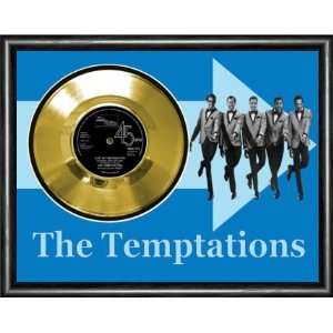 The Temptations Just My Imagination Framed Gold Record