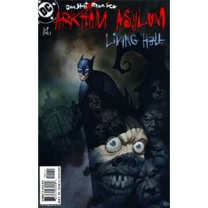 Arkham Asylum: Living Hell Complete 1 6 Comic Set: Dan