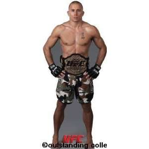 UFC Georges St Pierre Life size Standup Standee