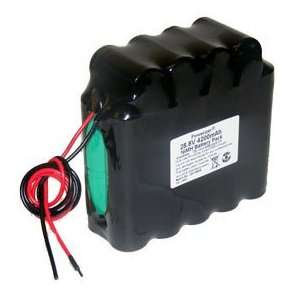 NiMh Battery: 28.8V 4200 mAh (5x5 SC) with Open End Wire & Thermistor