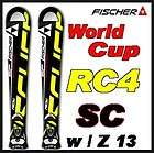 11 12 Fischer RC4 World Cup SC Skis 170cm w/Z 13 NEW