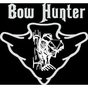 arrowhead outline  die cut decal sticker hunter hunting deer duck bow
