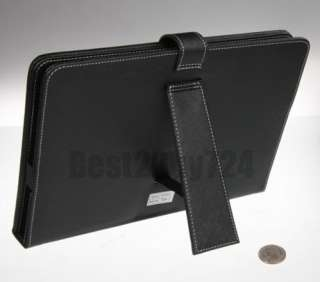 Leather Case Cover With Keyboard For 10 Inch Tablet Computer