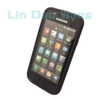 Silicone Case Cover Pouch + LCD Film For SAMSUNG GALAXY SL i9003