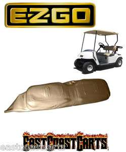 EZGO TXT Golf Cart SEAT BACK COVER TAN 71753 G04