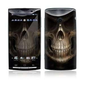 Sony Ericsson Xperia X10 Decal Skin   Skull Dark Lord