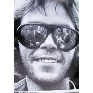 Neil Young Sunglasses Rock Folk Music Poster 23.5 x 33