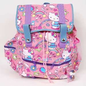 Hello Kitty Backpack Drawstring School Bag Pink Toys