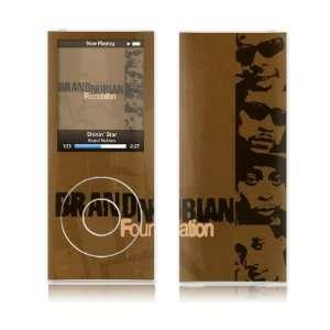 Music Skins MS BN10005 iPod Nano  4th Gen  Brand Nubian