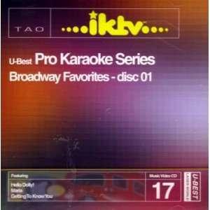 U best Pro Karaoke Series #17 (Broadway Favorites disc 01