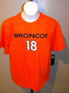 NEW PEYTON MANNING DENVER BRONCOS REEBOK YOUTH XLarge XL 18 20 Jersey