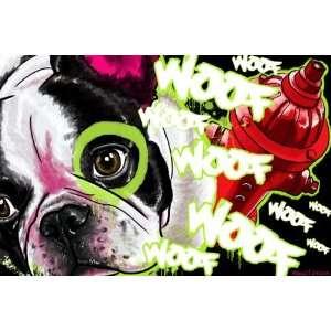 Contemporary Modern French Bull Dog Art Buy Prints Sale