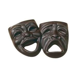 Drama Mask    3 oz Custom Chocolate Comedy & Tragedy 3D
