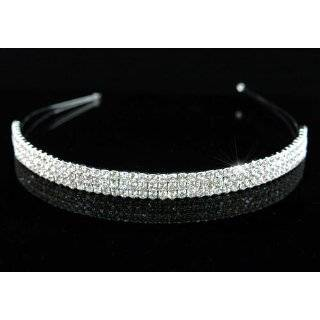 row Rhinestone Crystal Hair Accessory   Ideal for Bridal Party