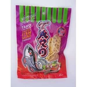 Thai Taro Fish Snack Thai Spicy Fish Salad Flavour 36 G