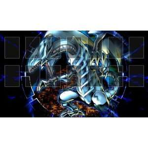 Blue Eyes White Dragon 2 Yugioh Playmats Custom Made