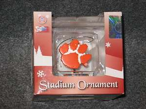 Clemson Tigers Death Valley Stadium Decorative 2.5 inch Ornament