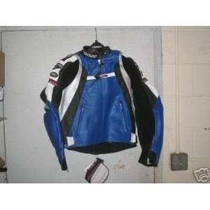 Violator Black Leather Motorcycle Jacket   44/54