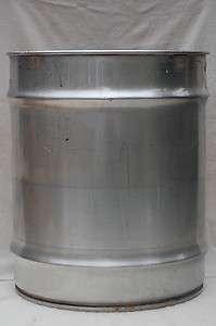 Stainless Steel Barrel / Drum Open head 42 Gallon