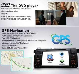 Hot Car Monitor GPS Radio Navigation DVD Player for BMW 3 Series E46