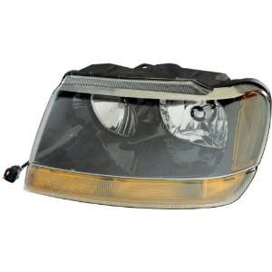 JEEP GRAND CHEROKEE HEADLIGHT LEFT (DRIVER SIDE) (LAREDO) *CAPA* 1999