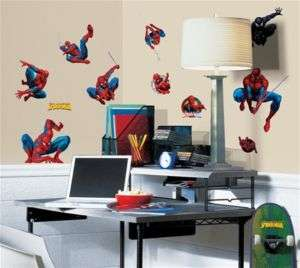 Amazing Spiderman Wall Stickers Decals Appliques Kids