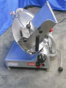 MANUAL GRAVITY SLICER 12 BLADE DELI MEAT CHEESE COMMERCIAL